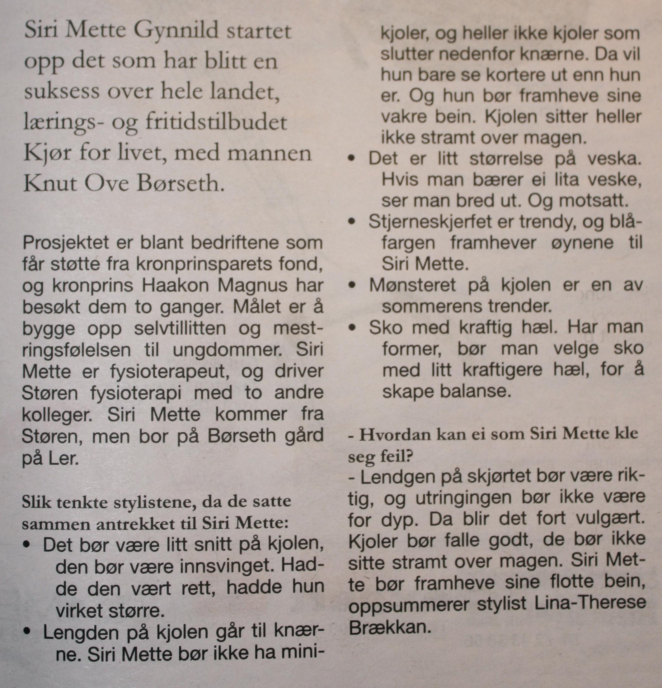 trønderbladet mote styling