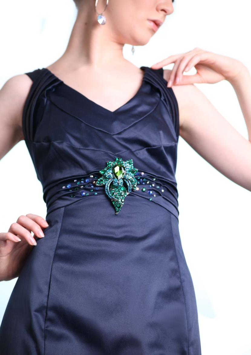 bling crystal dress