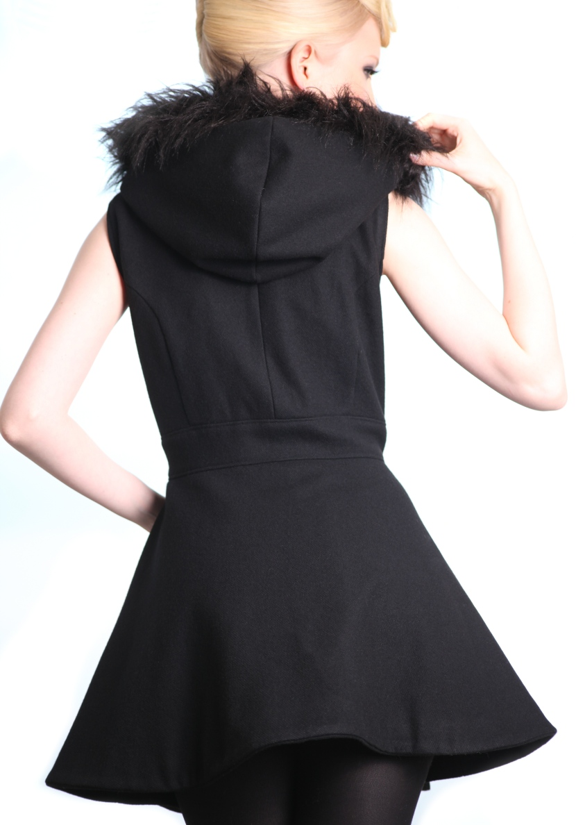 ltdesign vest fur feminine