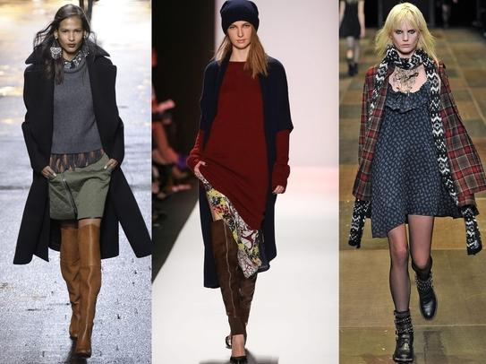 grunge stil trend mote 2013