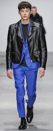 mens fashion blue color