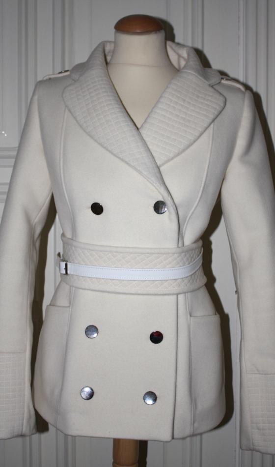 jakke med belte ltdesign revers