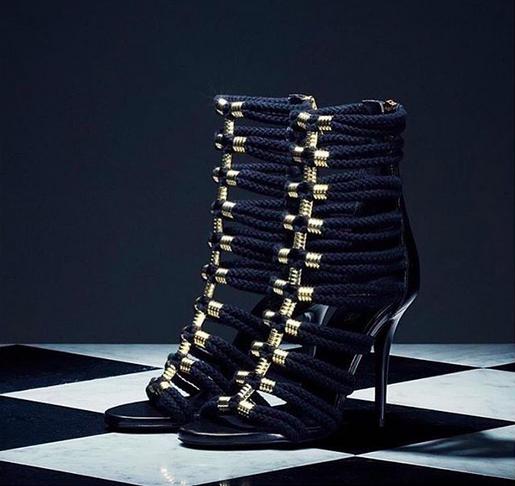 Balmain x hm shoes